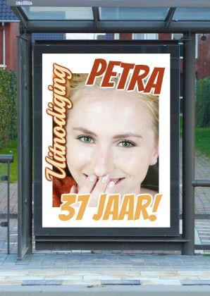 Feest reclameposter c - Uitnodigingen - Kaartje2go