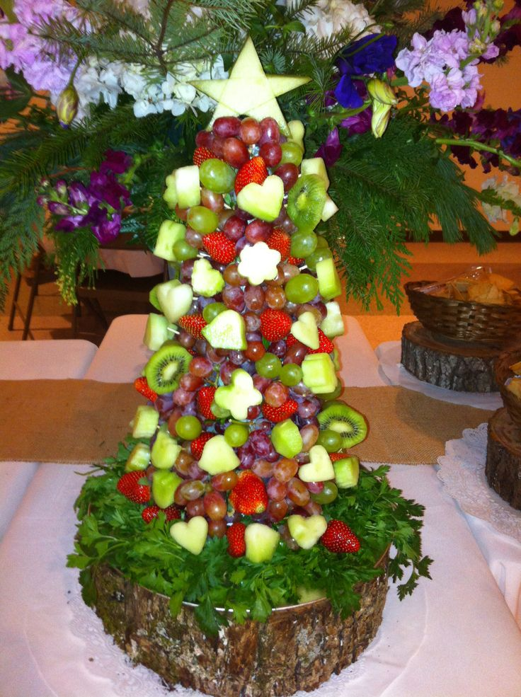 Christmas Fruit Arrangements