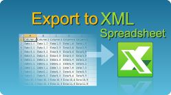 Export data to XML Spreadsheet Excel file in C#, VB.NET, Java, PHP, ASP classic, C++, C++.NET, VB6, VBS, ColdFusion, ASP.NET!  #EasyXLS #Excel #Export #XML #CSharp #VBNET #Java #PHP