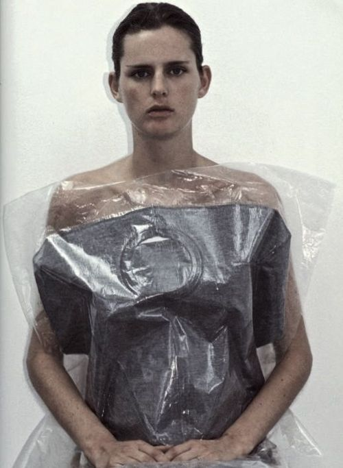 Stella Tennant wearing Martin Margiela by Mark Borthwick