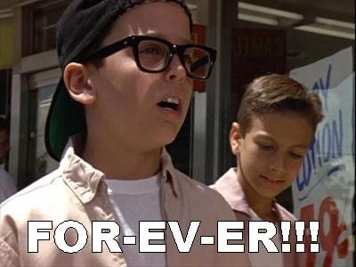 That's the only way to say the word.  love Sandlot!