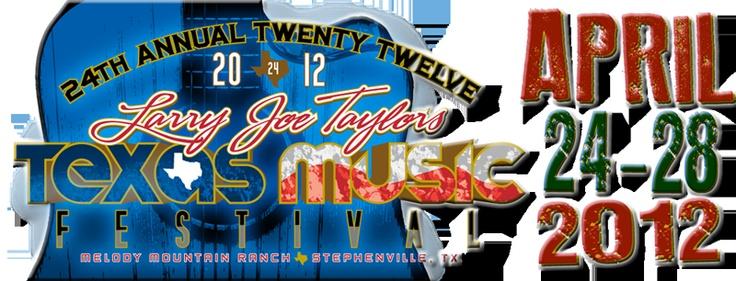 Larry Joe Taylor Fest in Stephenville, Texas