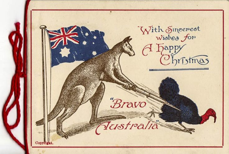 "1916c-WW1-Bravo-AustraliaMA-96.jpg (800×539) Circa 1916: ""Bravo Australia""– the symbols say it all."