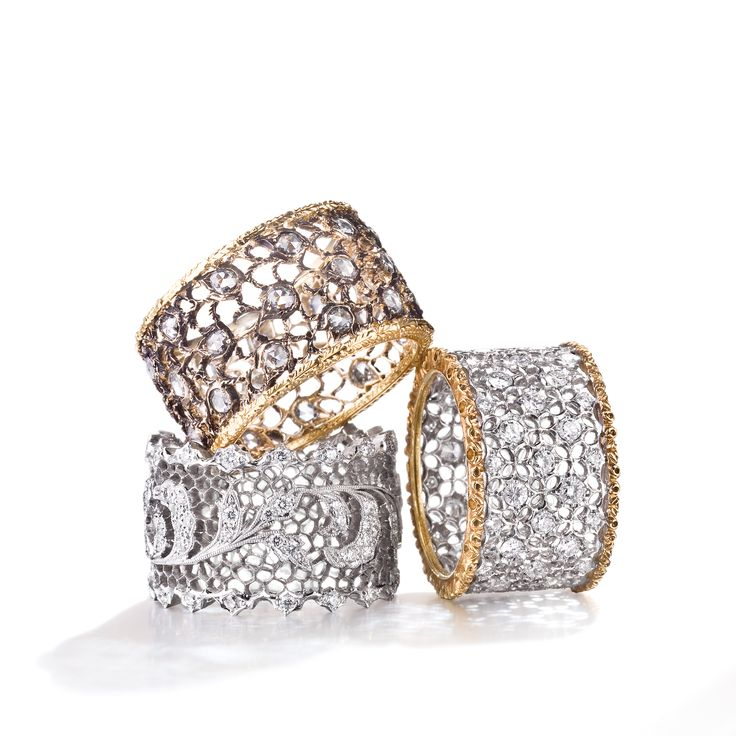 Buccellati Womens Jewelry, Silver, Silver 925, 2017, One Size