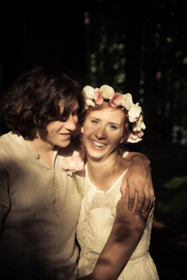 Forest, wedding day