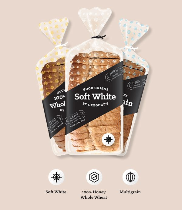Gregory's Wheat Shop Rebrand Concept by Shu An Chen, via Behance #packaging #design