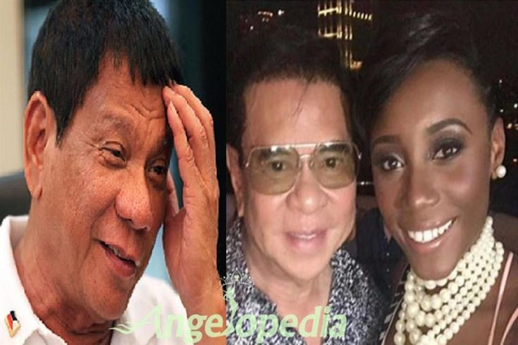 Erika Renae Creque Mistakes Chavit Singson for President Duterte