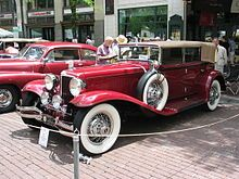 Cord Automobile - Wikipedia, the free encyclopedia Manufactured in Connersville Indiana from 1929-1932 & again in 1936-1937.
