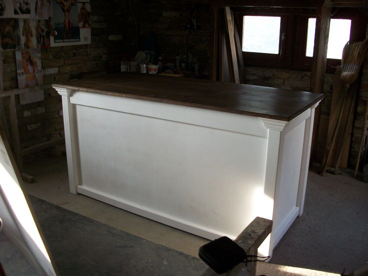 Solid Pine Traditional Handcrafted Shop Counter