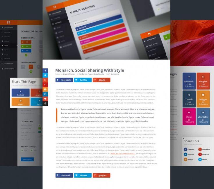 Monarch: výkonný plugin pro sdílení stránek na sociálních sítích   čeština