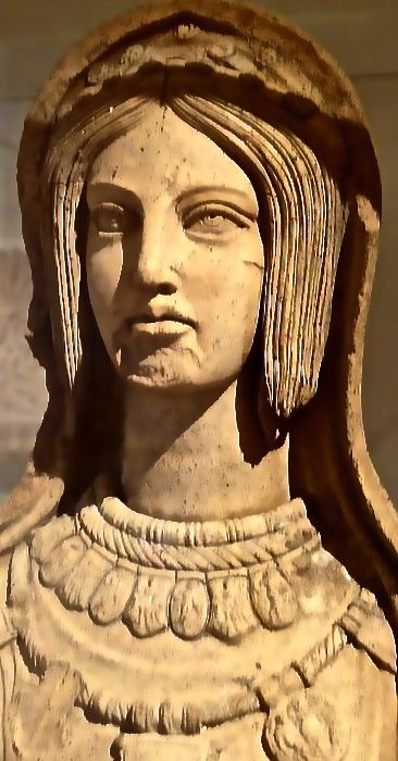 Statue of a young Etruscan woman, late 4th century-early 3rd century BCE