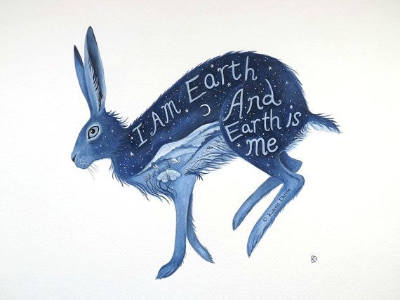 "#1 | ""I Am Earth and Earth Is Me"" Archival Print."