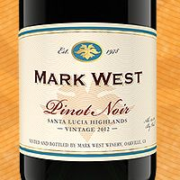Santa Lucia Highlands Pinot Noir | Mark West Wines. Fantastic for Holiday celebrations at a reasonable price.