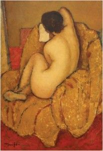 nicolae tonitza nud pictura romaneasca interbelica