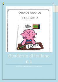 Classe quinta - Quaderno di italiano
