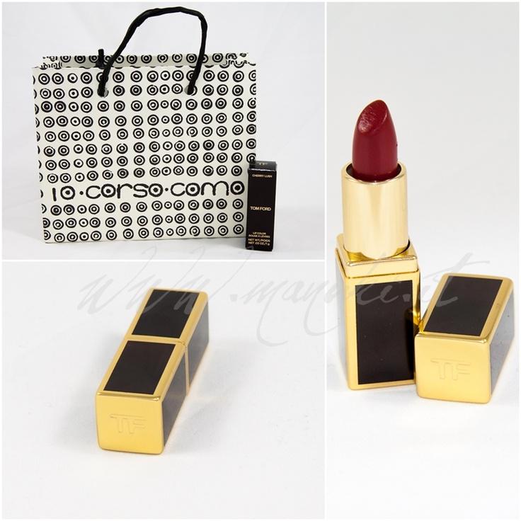 Tom Ford: Novità primavera 2013 e Review Rossetto Cherry Lush | Manukis Makeup and Creativity ☆