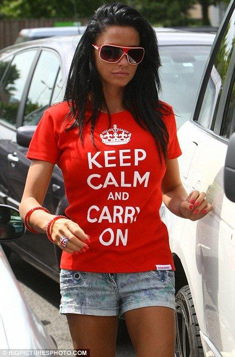 katie price..London celeb...love her reality show..