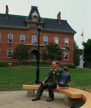 Owl River Runners was filmed in the Town of Hampton NB