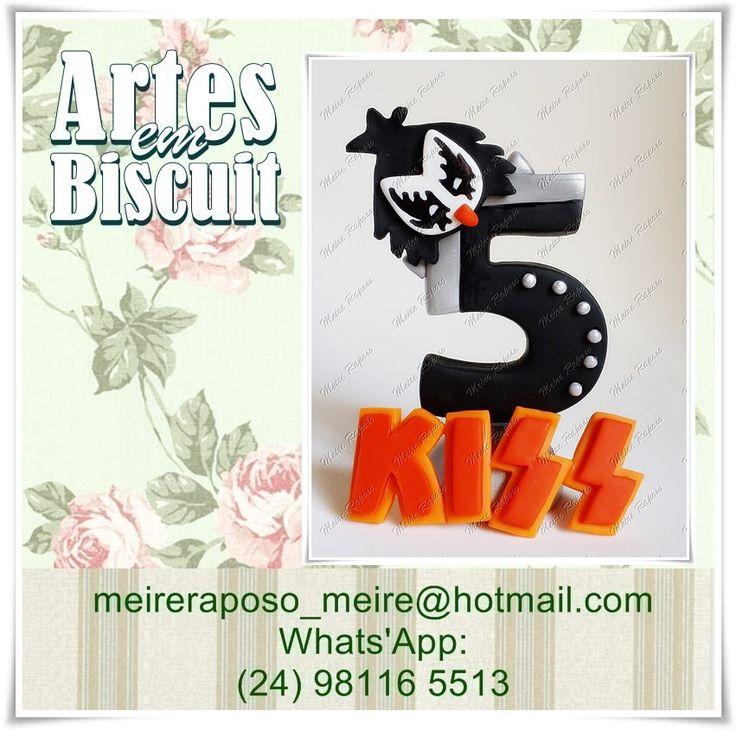 Vela Personalizada Banda Kiss