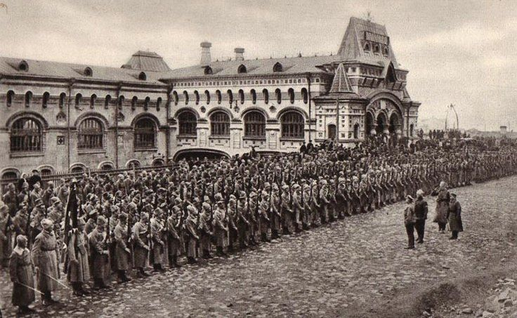 Czechs at Vladivostok