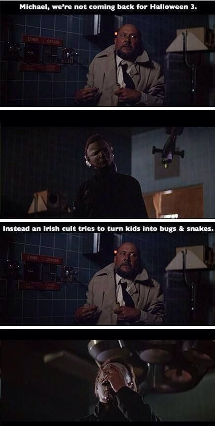 Haha! Michael Myers face palm!