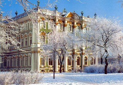 Russia...I love learning about the history of the Romanov family, though tragic it seems so magical looking at their grand palaces.