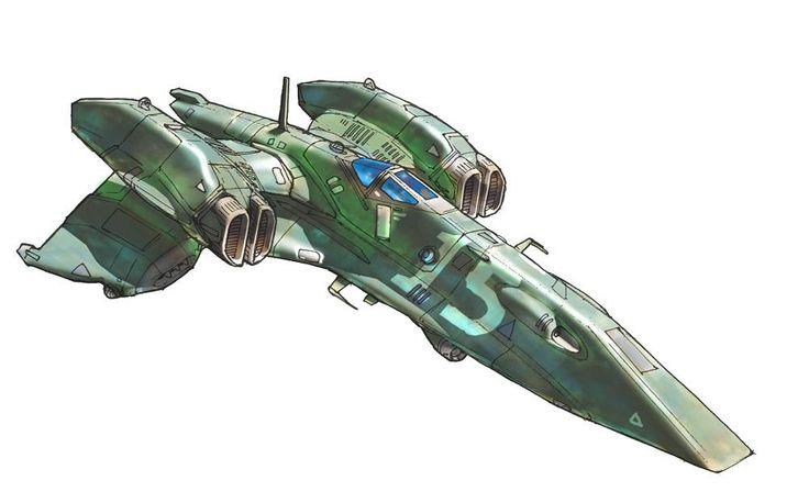 Homeworld 2 Interceptor Concept