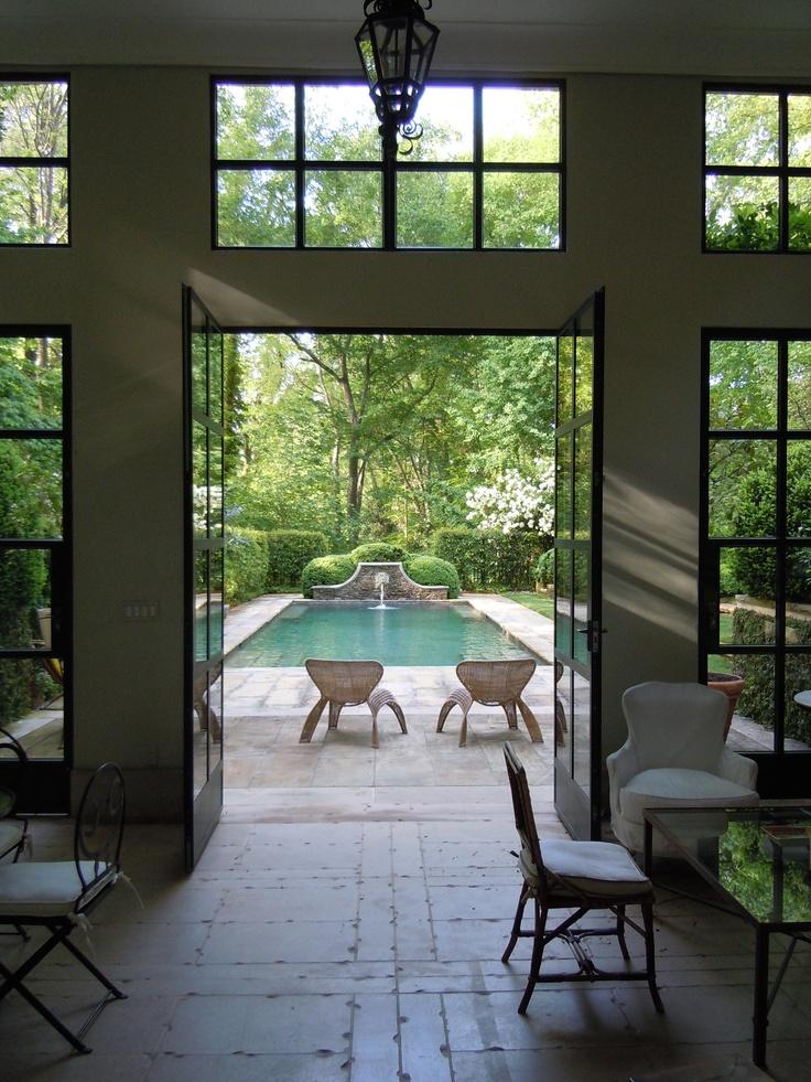 Pool & garden by Howard Design Studio.