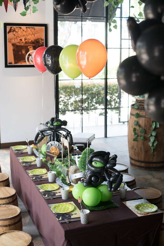 Calling all vikings... we've got dragons to tame at Nolan's 1st birthday party | CatchMyParty.com