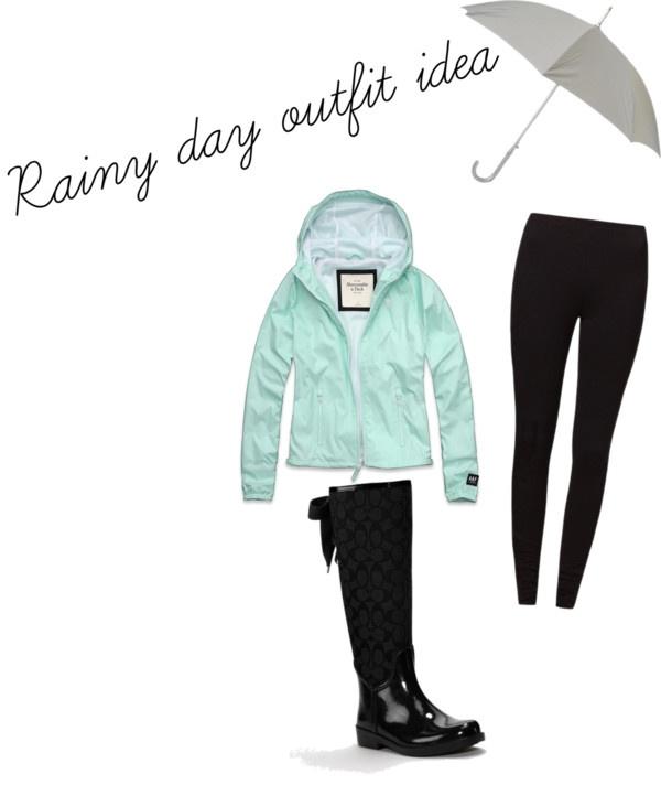 "Cute Rainy Day: ""rainy Day Outfit"" By Jennajoann On Polyvore"