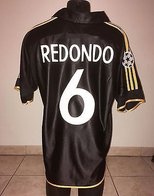 Real #madrid shirt jersey fernando #redondo argentina #champions league 99 00 tek,  View more on the LINK: http://www.zeppy.io/product/gb/2/262764978423/