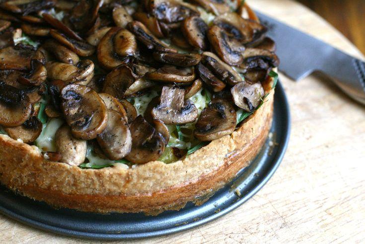 paddenstoelen-aardappeltaart