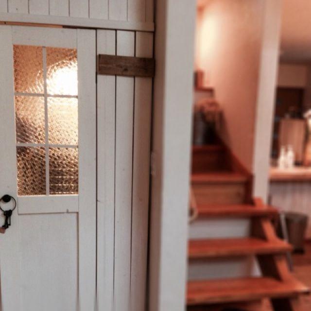 階段下収納/殺風景/男前化にしたい/改造計画中/DIY/リビング…などのインテリア実例 - 2014-04-05 20:26:30   RoomClip(ルームクリップ)