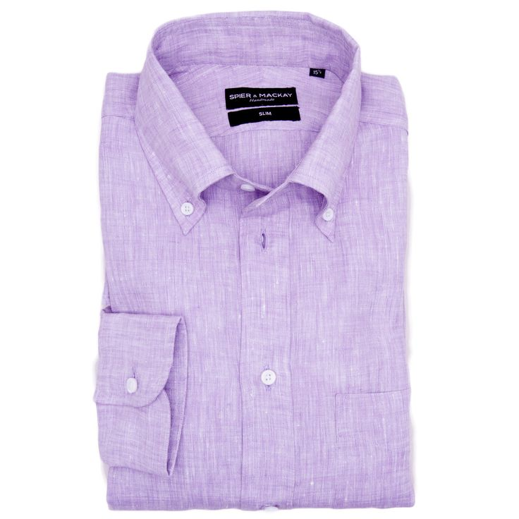 Place your order online for Mauve Linen Contemporary Fit Men's shirt online at http://www.spierandmackay.com/product_information/4333_mauve_linen. This shirt is perfect to wear in summer.