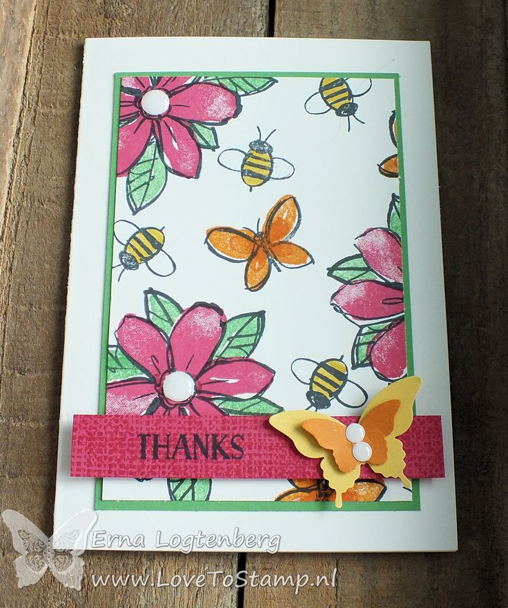 Stampin'Up! Erna Logtenberg (Love To Stamp): Stampin'Up! Stamping And Blogging!