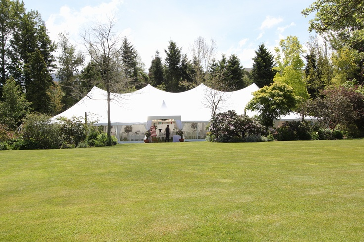 12m x 30m Peg and Pole Marquee from Peter May Ltd
