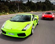Why not group together and surprise your #dad with a drive that he will remember.  Create a registry with www.wishbucket.com.au and make possible a drive with either a  #Ferrari or a #Lamborghini, 1 Hour - Melbourne