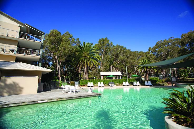 Outdoor Pool & Spa | Wyndham Flynns Beach, Port Macquarie, NSW, Australia.