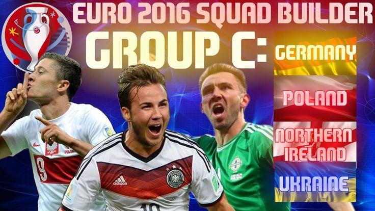 EURO 2016 Group C Lineups, Squads, Teams, Fixtures, Preview - http://www.tsmplug.com/football/54106/