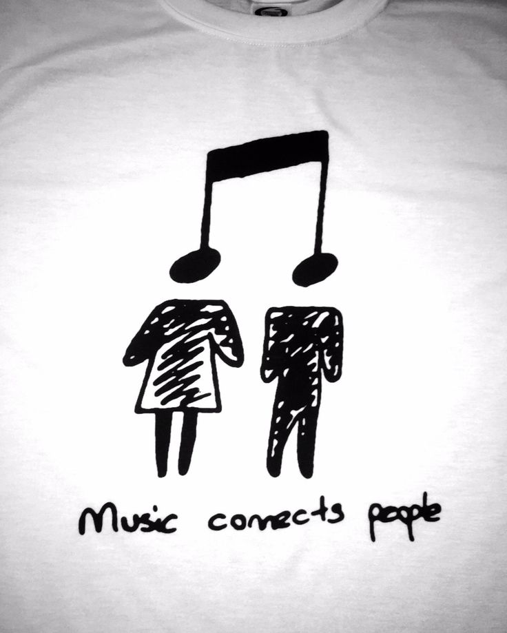 Music Connects People!!! Unisex Sizing: Girls order 1 size smaller than normal.