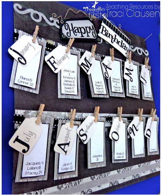 How to Celebrate Student Birthdays - Quick and Easy - With a FREEBIE!