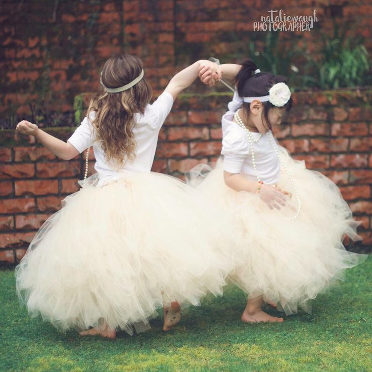Princess Tutus in the colour Beige. Handmade in New Zealand by Romayse Tutus