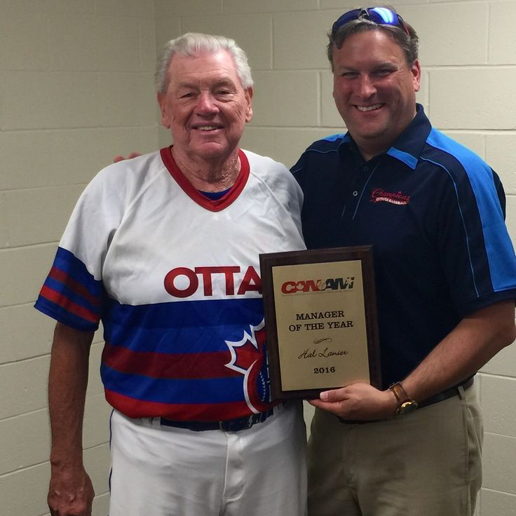 Hal Lanier, CanAm Manager of the Year for 2016