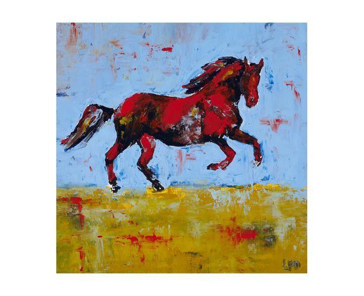 Scarlett Horse Artwork