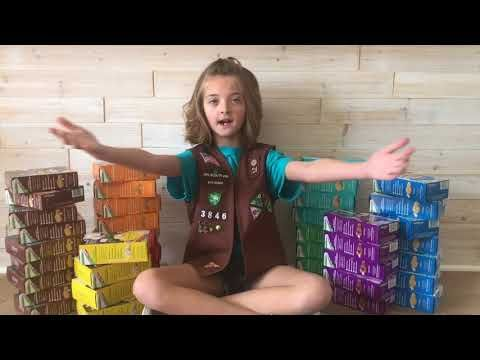 Singing Scout: Girl sings Taylor Swift cookie parody - CBS News 8 - San Diego, CA News Station - KFMB Channel 8