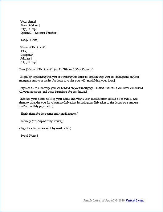 download the hardship letter template from vertex42 com