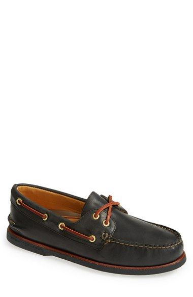 Sperry 'Gold Cup - Authentic Original' Boat Shoe (Men)   Size: 10.5 Color: Sarah Leather, Navy