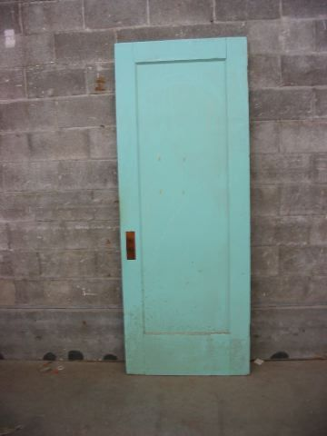 Shabby Chic Beer Pong Table Single Panel Interior Door | Second Use, Seattle: Building Materials, Salvage, & Deconstruction