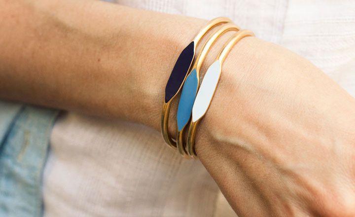 Blues Trio Bracelets > Garnett Jewelry