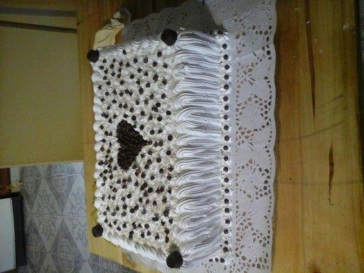 Torta con Bombones y CHips de CHocolate